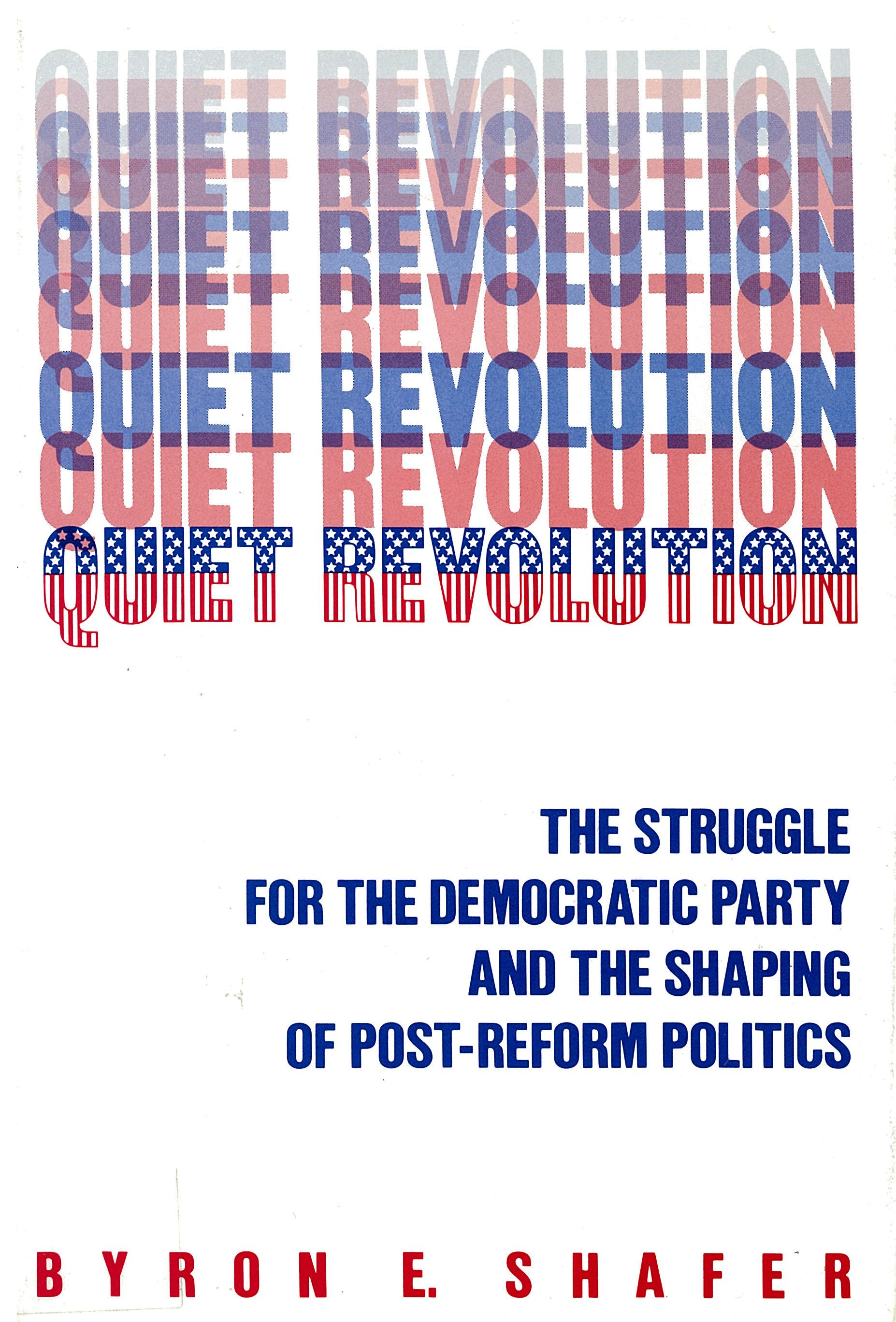 Quiet Revolution | Russell Sage Foundation