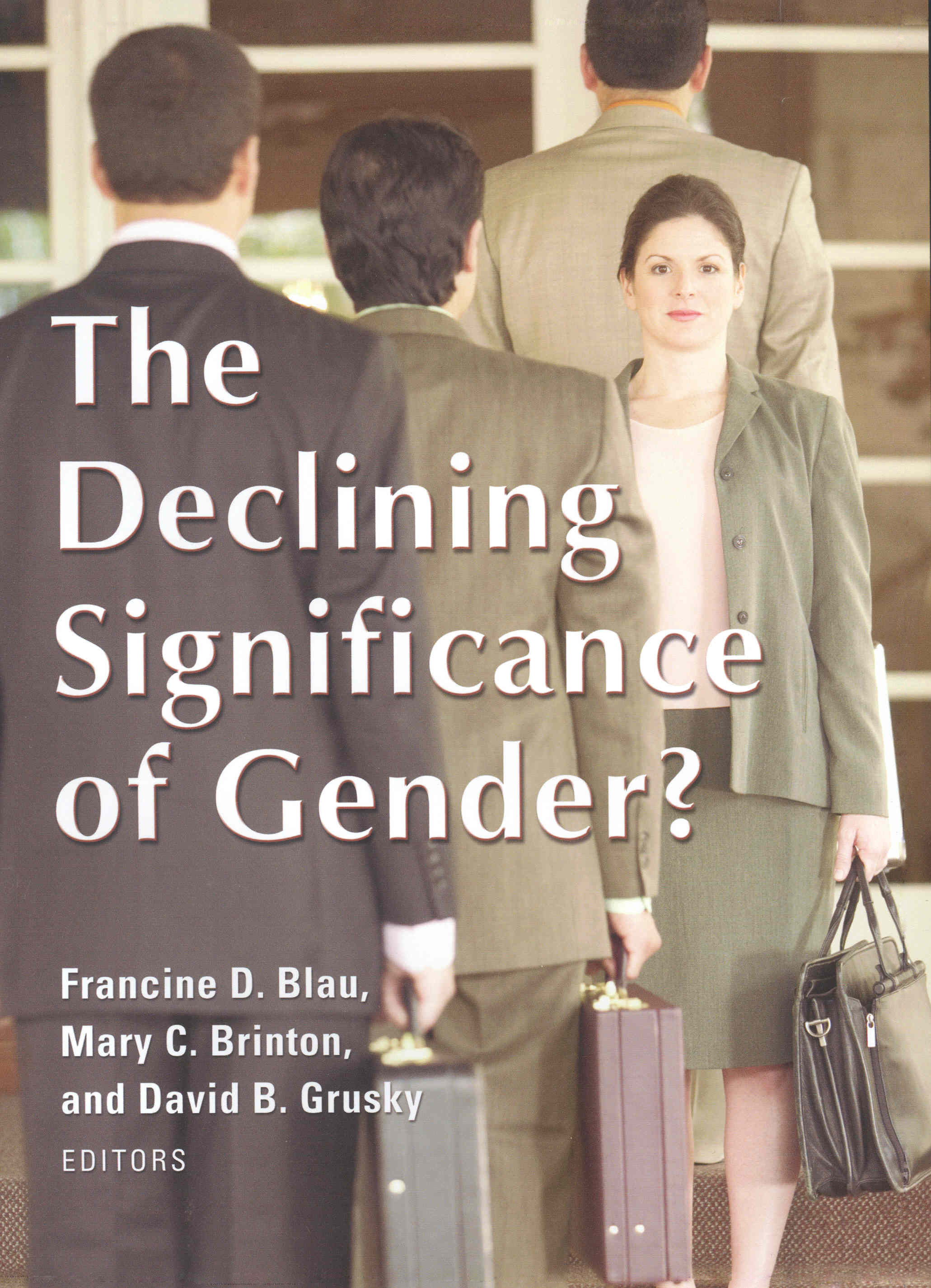 The Declining Significance of Gender?