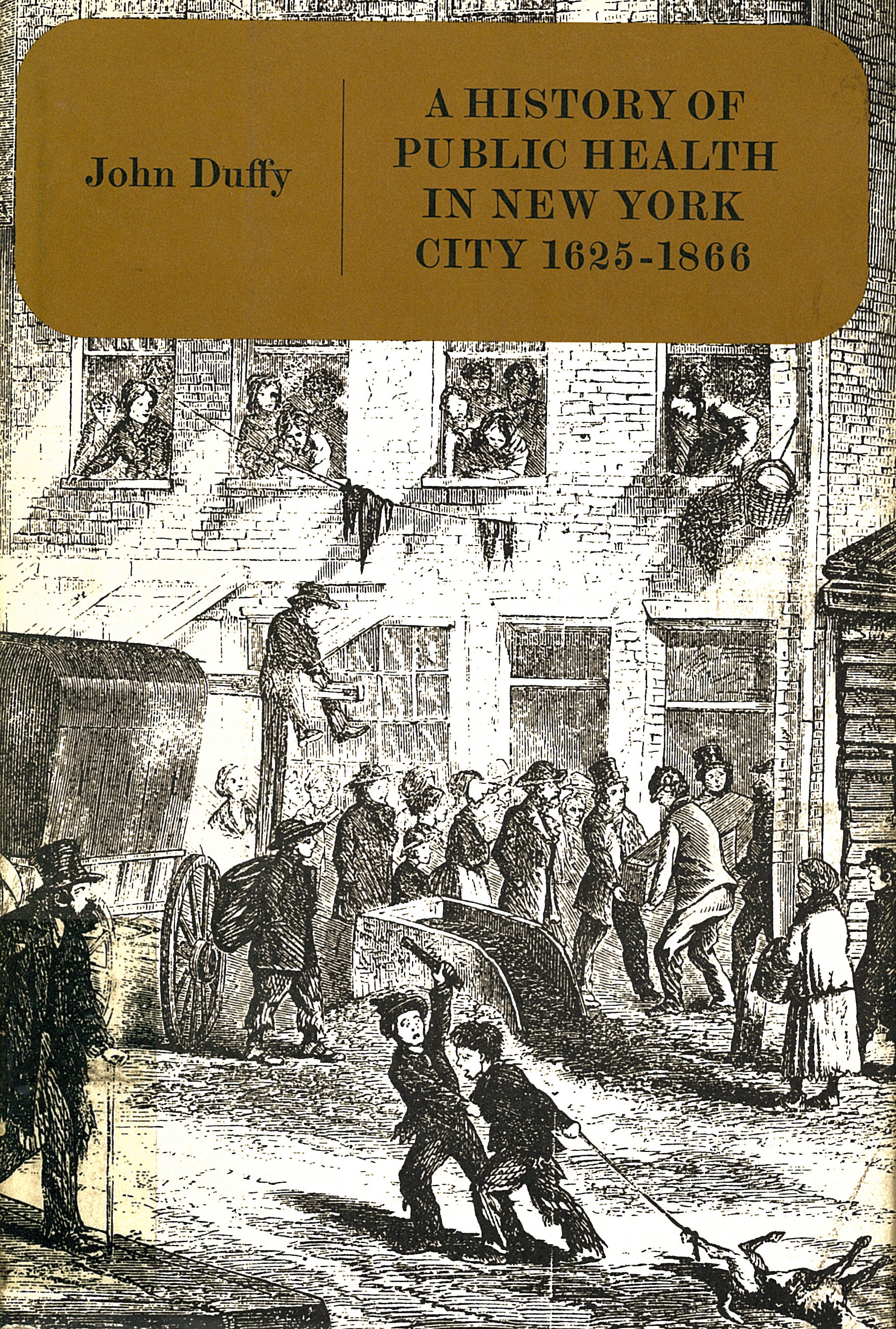 History of Public Health in New York City, 1625-1866