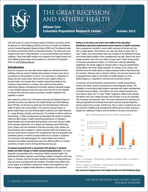 corrective actions of the great recession Corrective measures  this shift may have been a response to short-term budget crunches in the great recession,  would depend largely on the actions of.