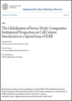 Review of literature on industrial relations