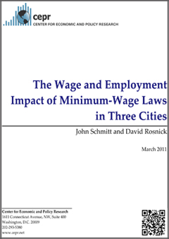 The Effects of Minimum Wages on Employment
